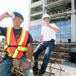 Canicule : conditions de travail difficiles dans le BTP