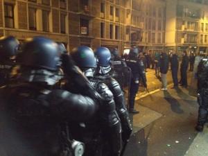 Quimper-manifestation-gendarmes
