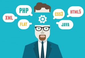 PHP-Java-CSS-Flat-Developpeur-web