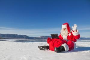 Père Noel connecté