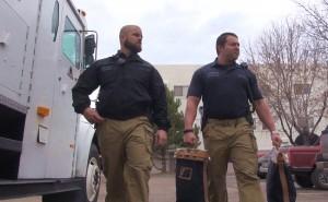 Phil et Matt, Blue Line Protection Group