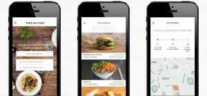 Take eat easy Application mobile