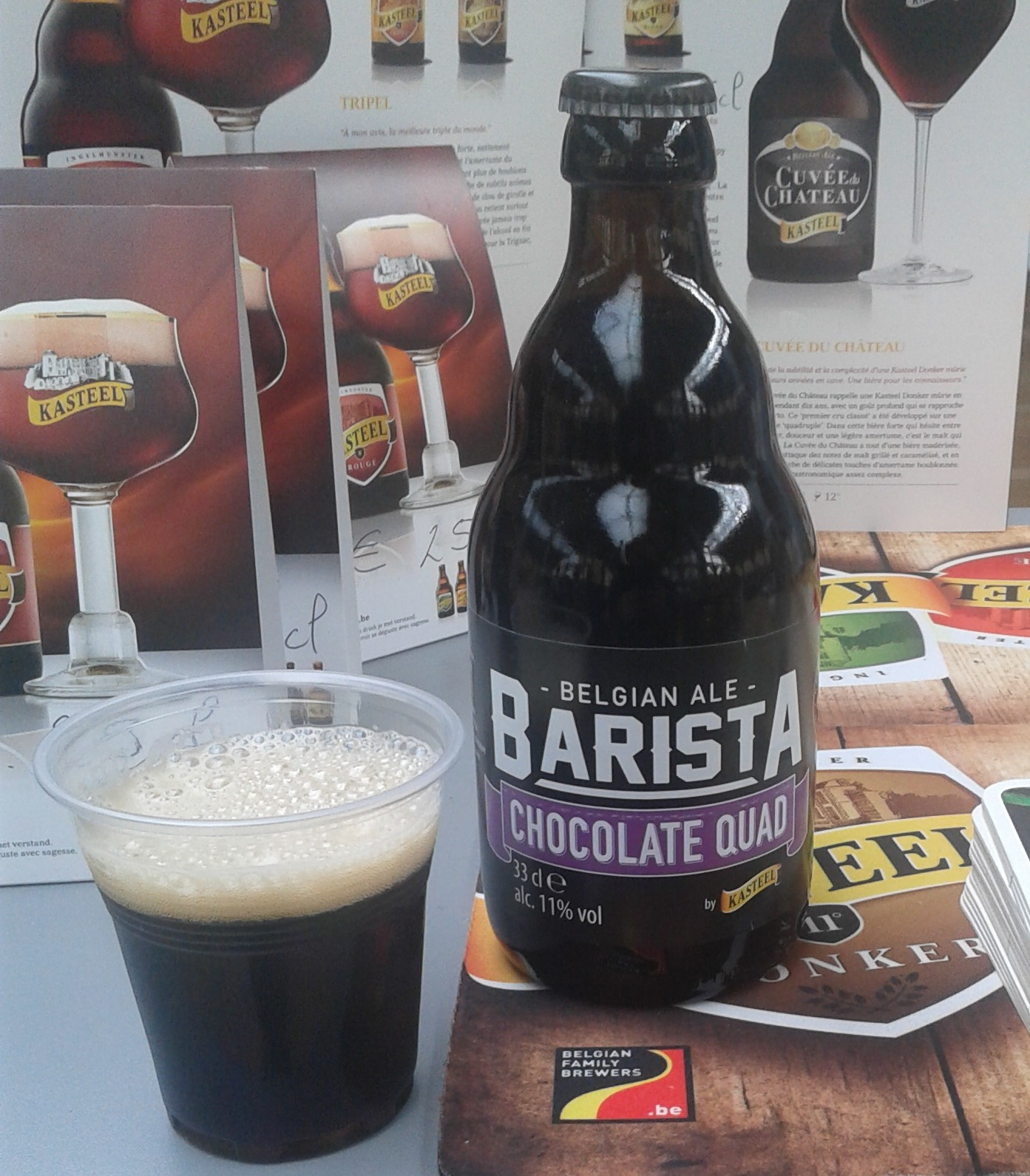 Barista chocolate-quad