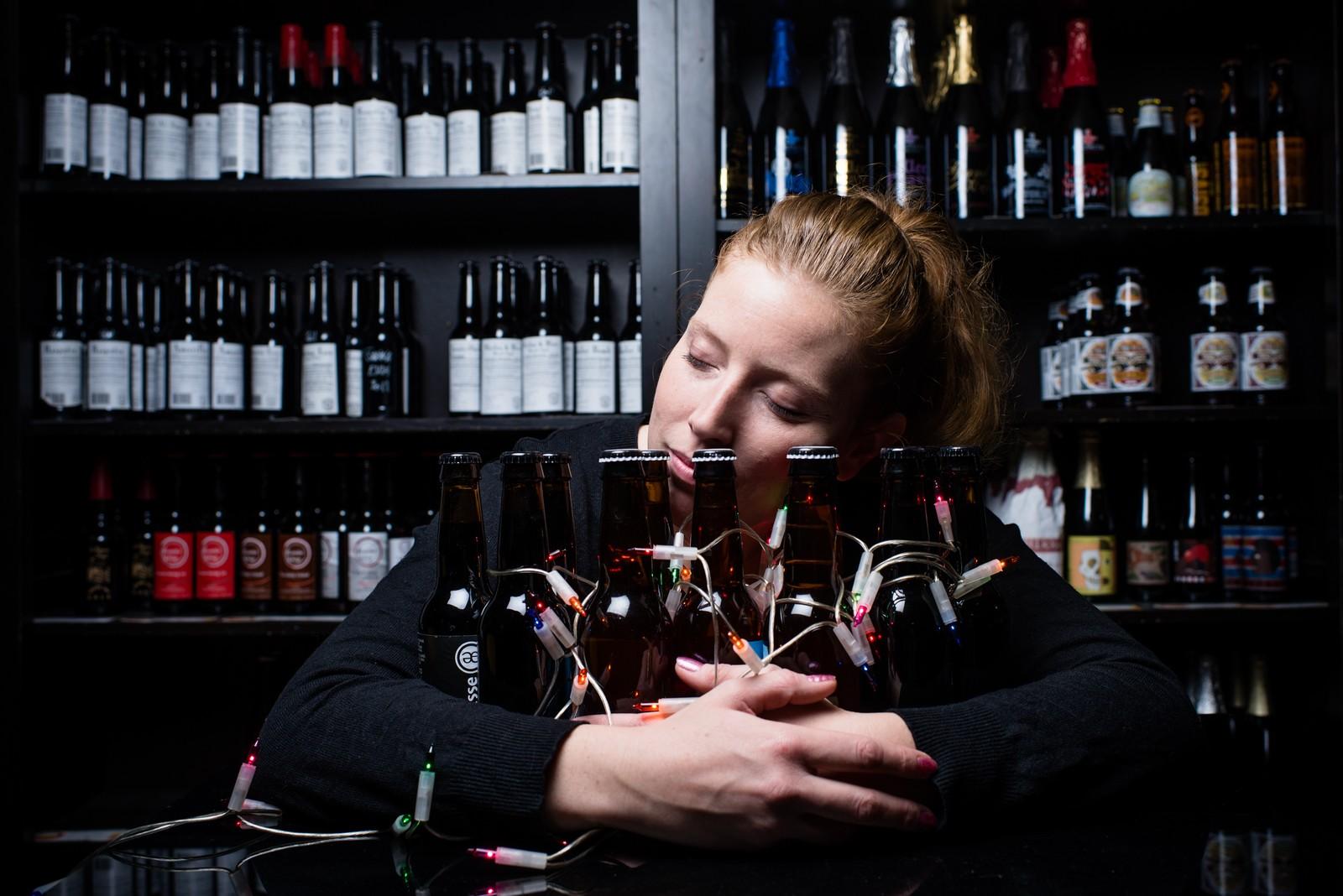 Cécile de la cave/pub Brewberry