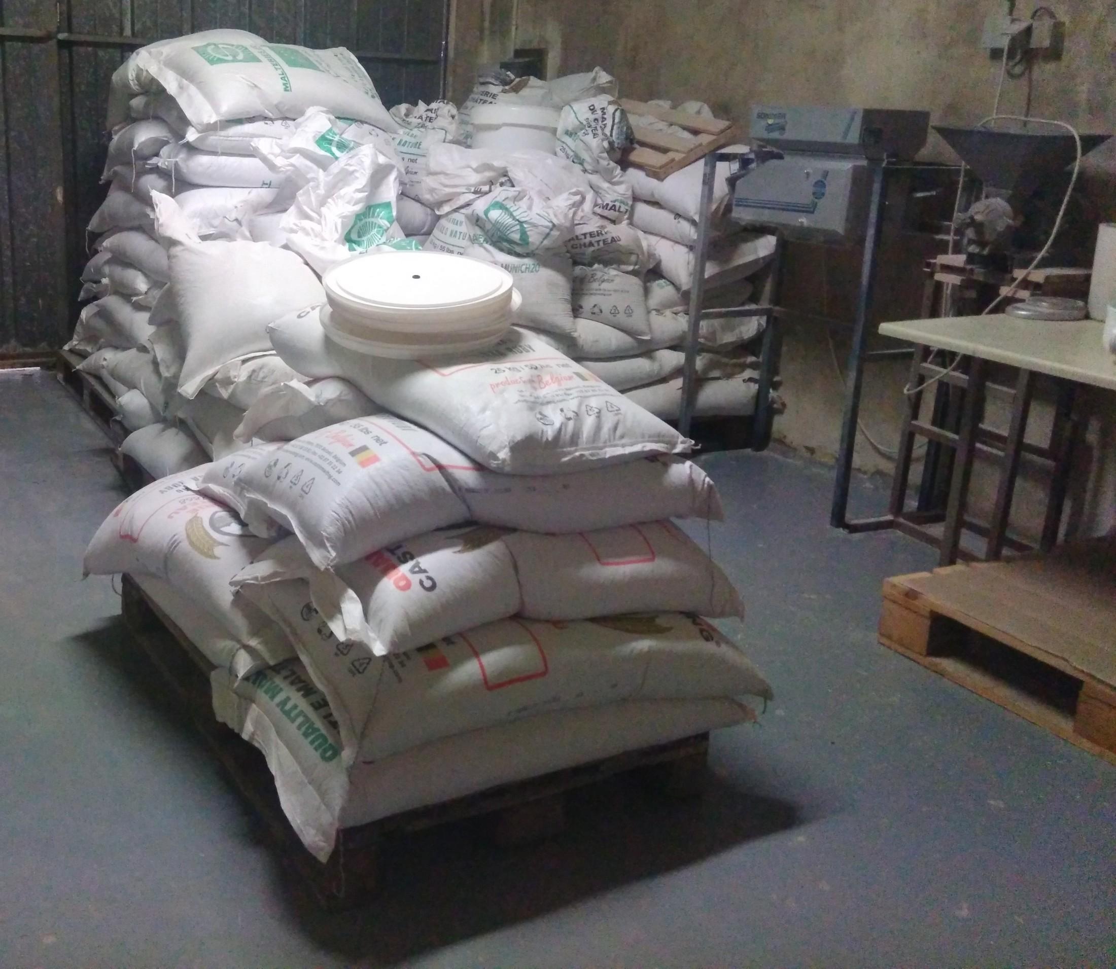 La Montreuilloise : sacs de malt