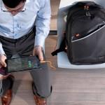 Hedgren développe le sac à dos qui recharge vos batteries