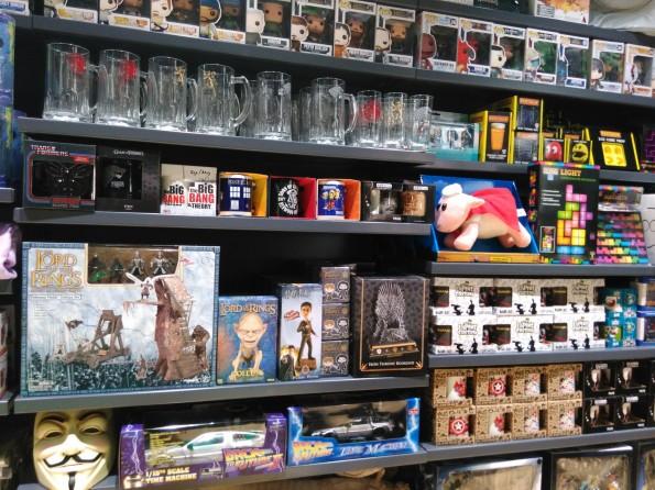 Zing Pop Culture : produits dérivés