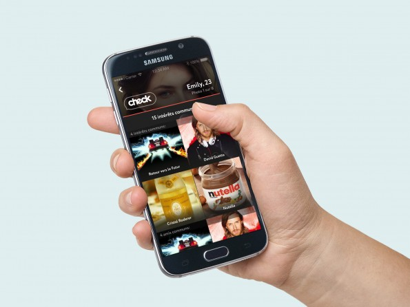 Application mobile Check