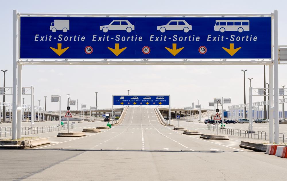 Portique routier