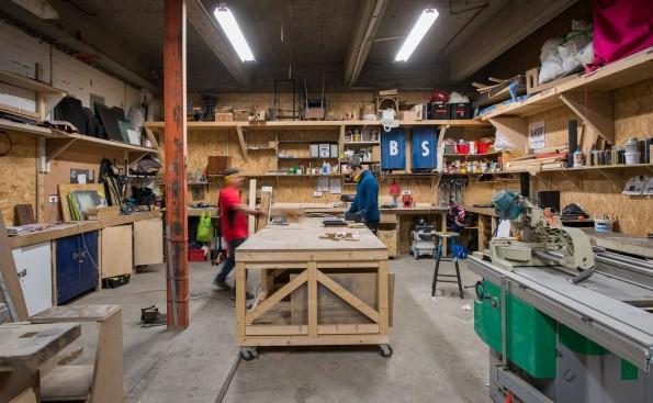 ICI Montreuil : atelier d'assemblage