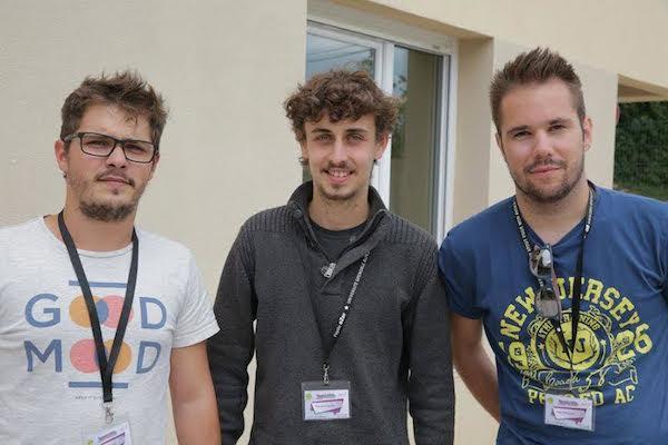 OpenCar Grenoble : François Fantin, Paul Feipeler et Lucas Durand