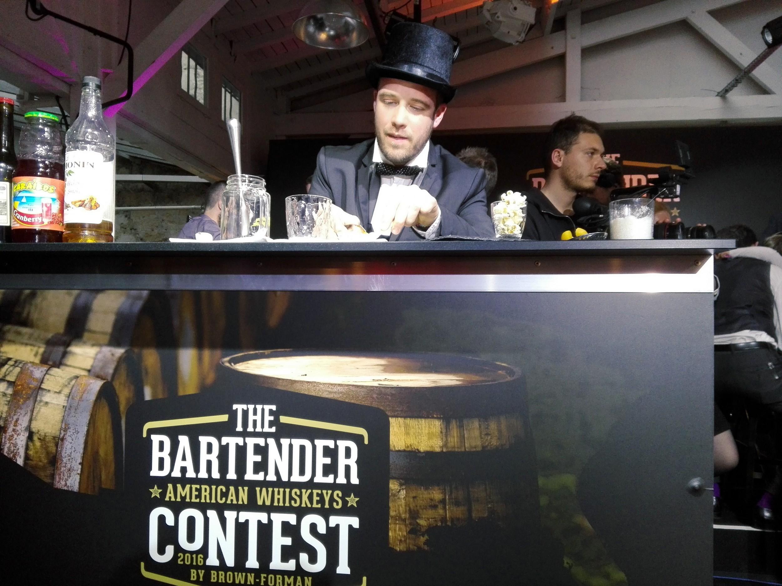 Brown Forman - Bartenders Contest American Whiskeys 2016