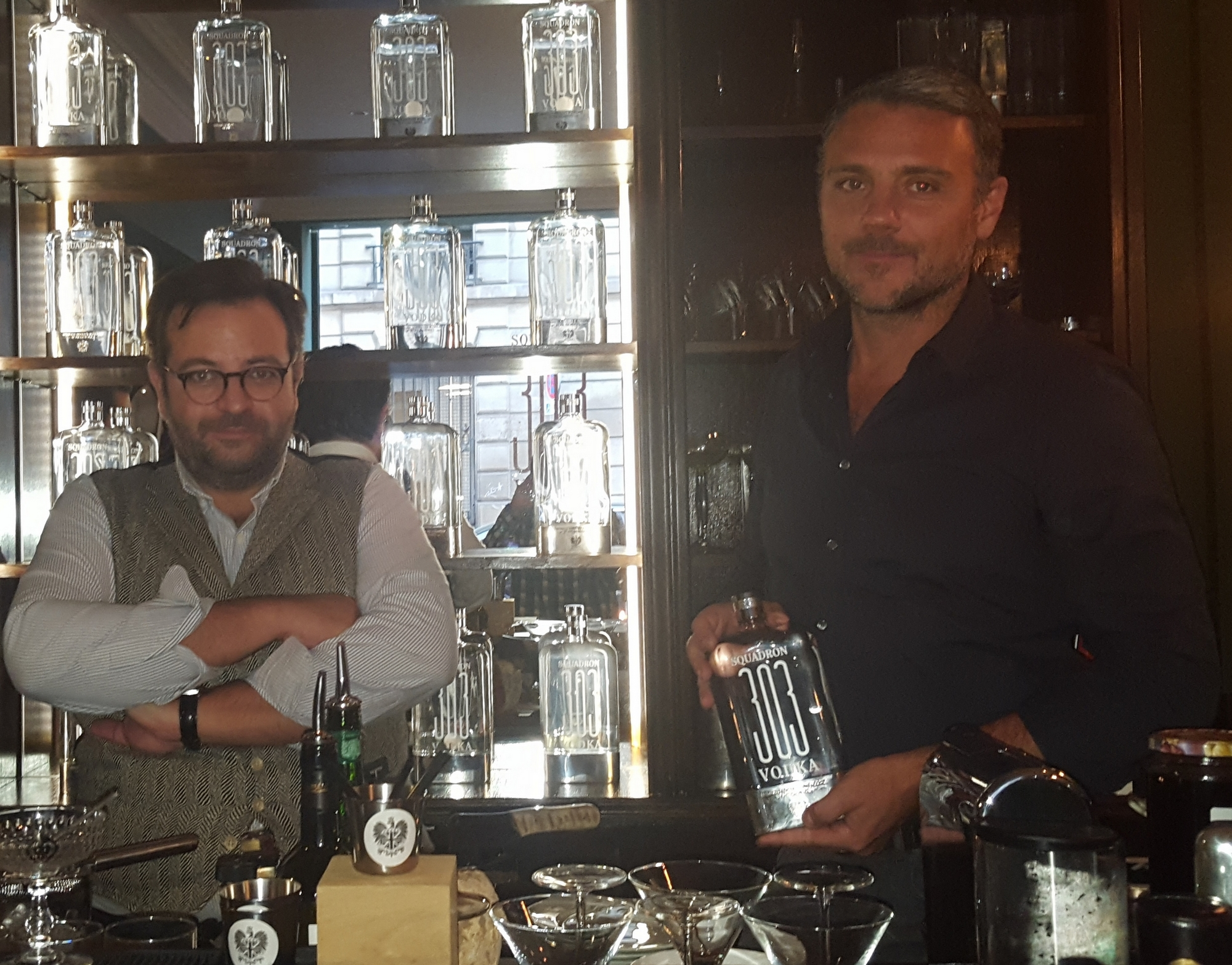 Franck Botbol et Hugues Choez