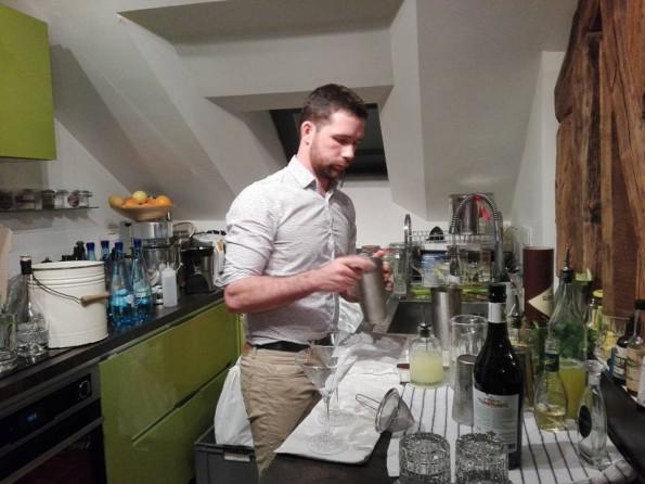Sébastien Ganz - Barman
