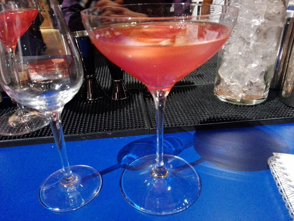 Cocktail Brockmans - Paris cocktail festival 2016
