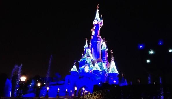 Château de Disneyland Paris - Saison de Noel 2016