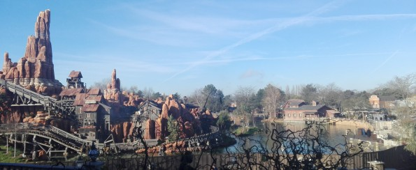 Big Thunder Mountain - Disneyland Paris - 11 décembre 2016