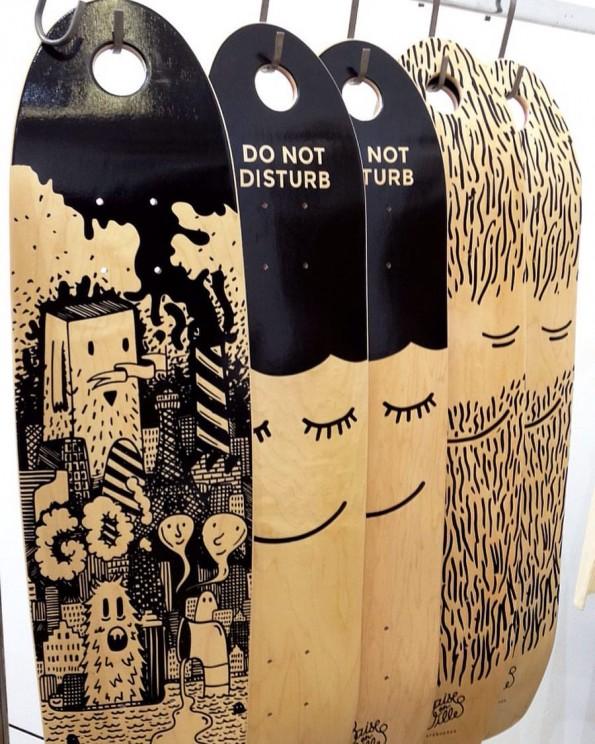 Skateboards Baise en ville