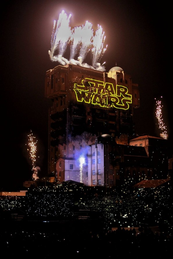 Spectacle nocturne Star Wars - Disneyland Paris