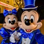 Mickey et Minnie en tenues de fête pour les 25 ans de Disneyland Paris