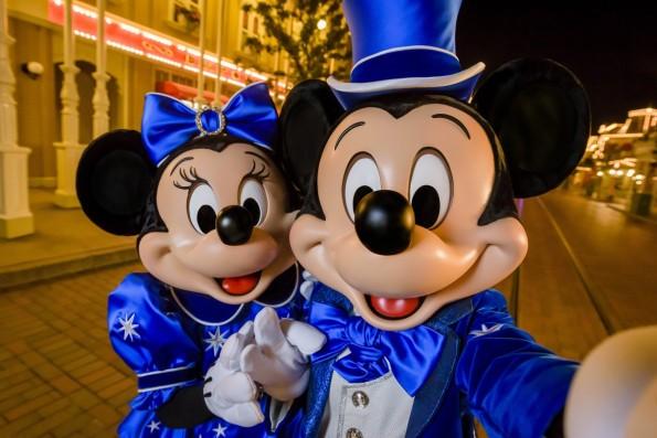 Mickey et Minnie - 25 ans Disneyland Paris