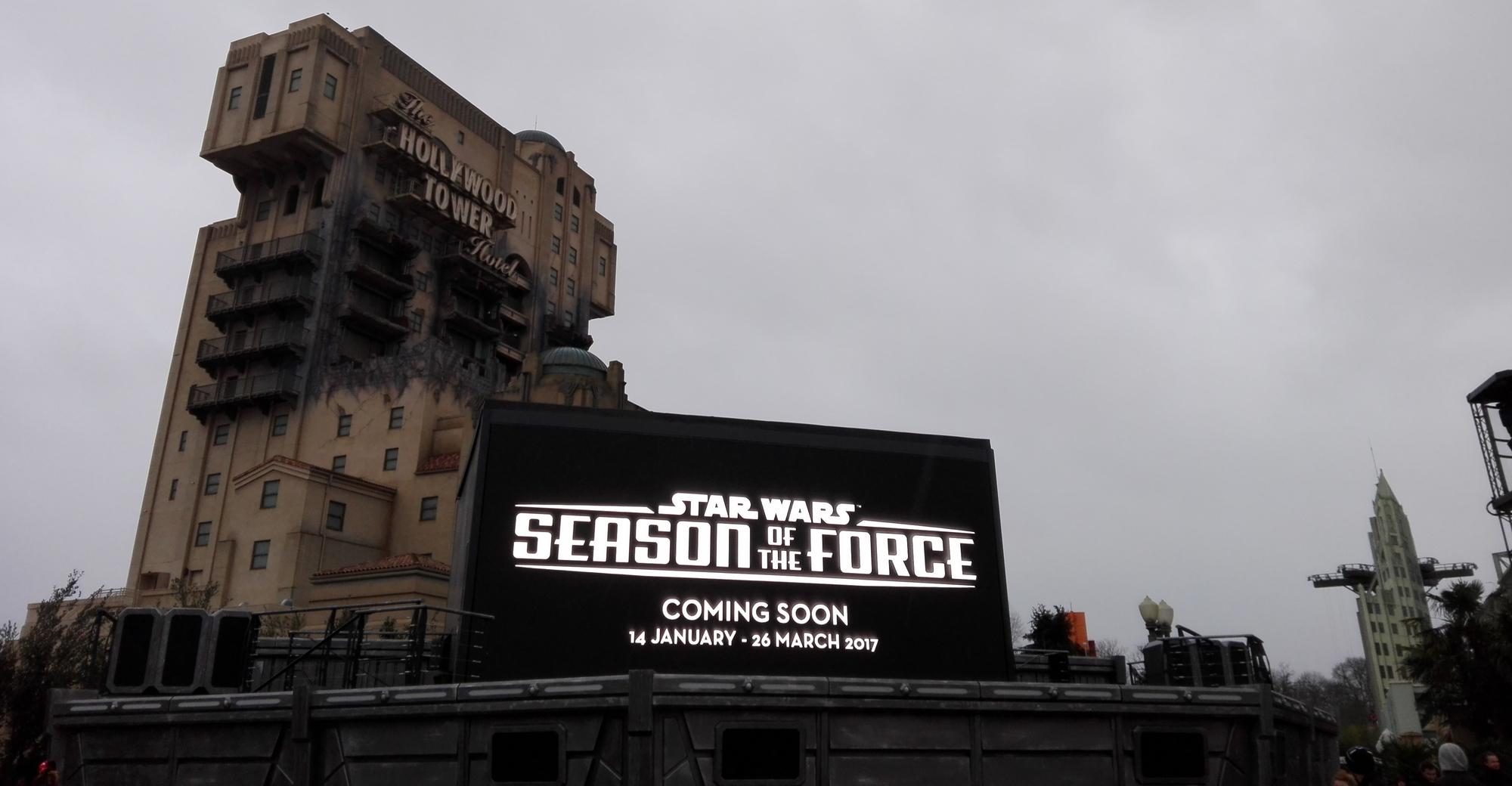 Saison de la force Star Wars Disneyland Paris - Parc Walt Disney Studios