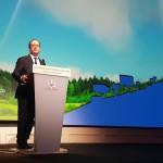 Disneyland Paris fête 30 ans de partenariat public-privé avec François Hollande