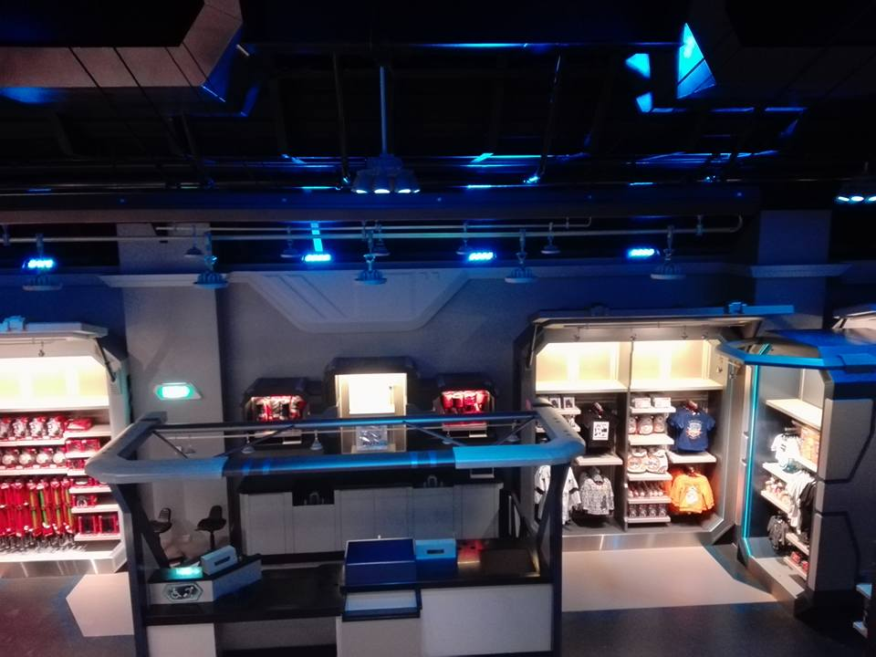 Star Tours - Nouvelle boutique Star Traders - Disneyland Paris