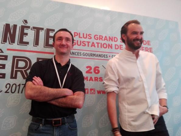 Emmanuel Rey et Cyril Lignac - Planète Bière 2017