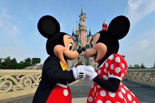 Disneyland Paris - Mickey et Minnie