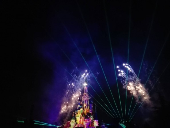 Disney Illuminations - 25 ans de Disneyland Paris - 12 avril 2017