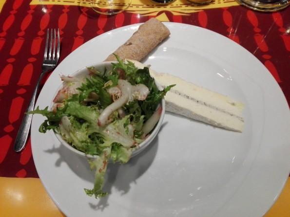 Délice de Favières - Brie de Meaux fermier agrémenté de brillat-savarin et truffes