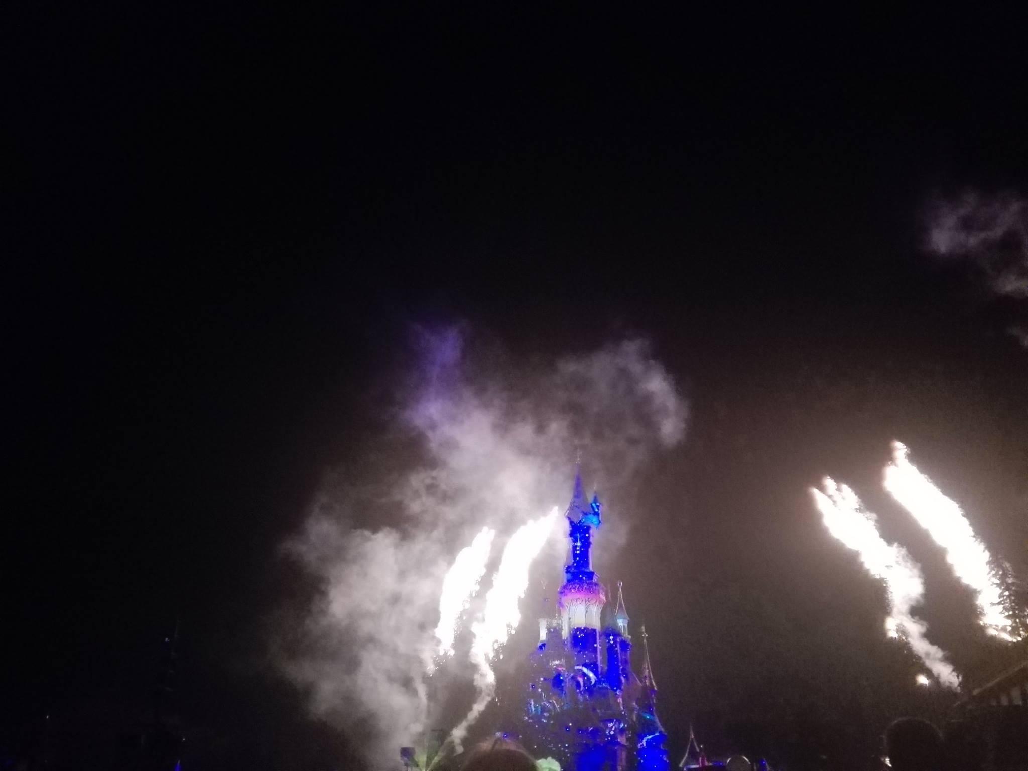 Disney Illuminations - 25 ans de Disneyland Paris - 12 avril 2017