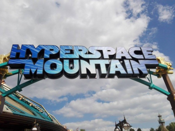 Hyperspace Mountain - Disneyland Paris