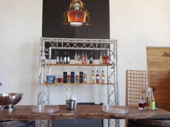 Cognac Pierre Lecat - Gamme de produits XO, VS, VSOP