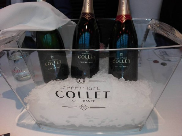 Champagne Collet - Champagne Tasting - Paris 2017