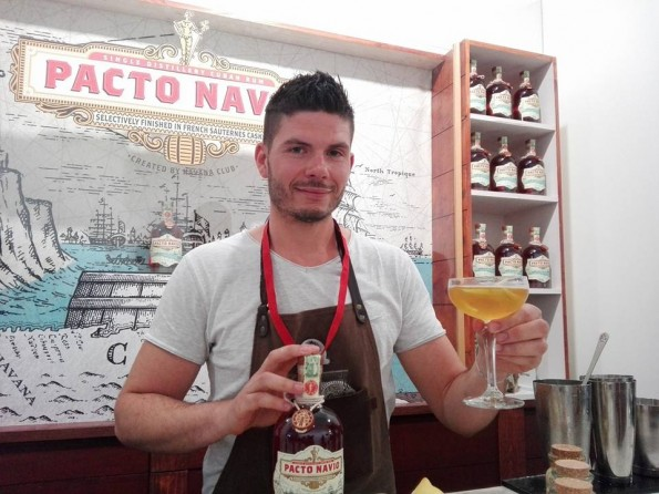 Guillaume Guerbois - Pacto Navio - Cocktails Spirits 2017