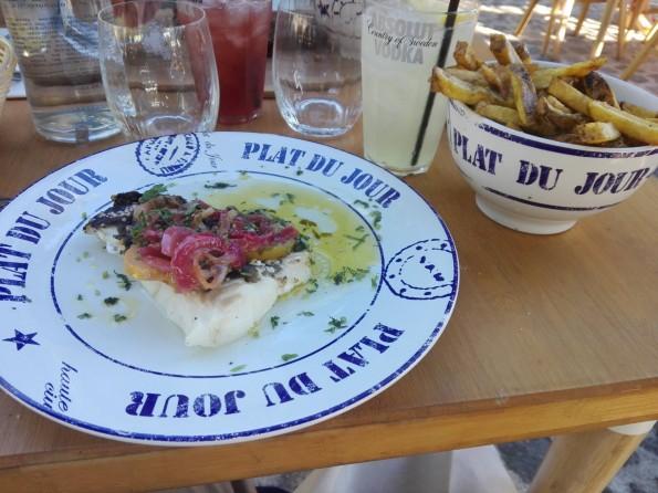La Démesure sur Seine - Plat et cocktail