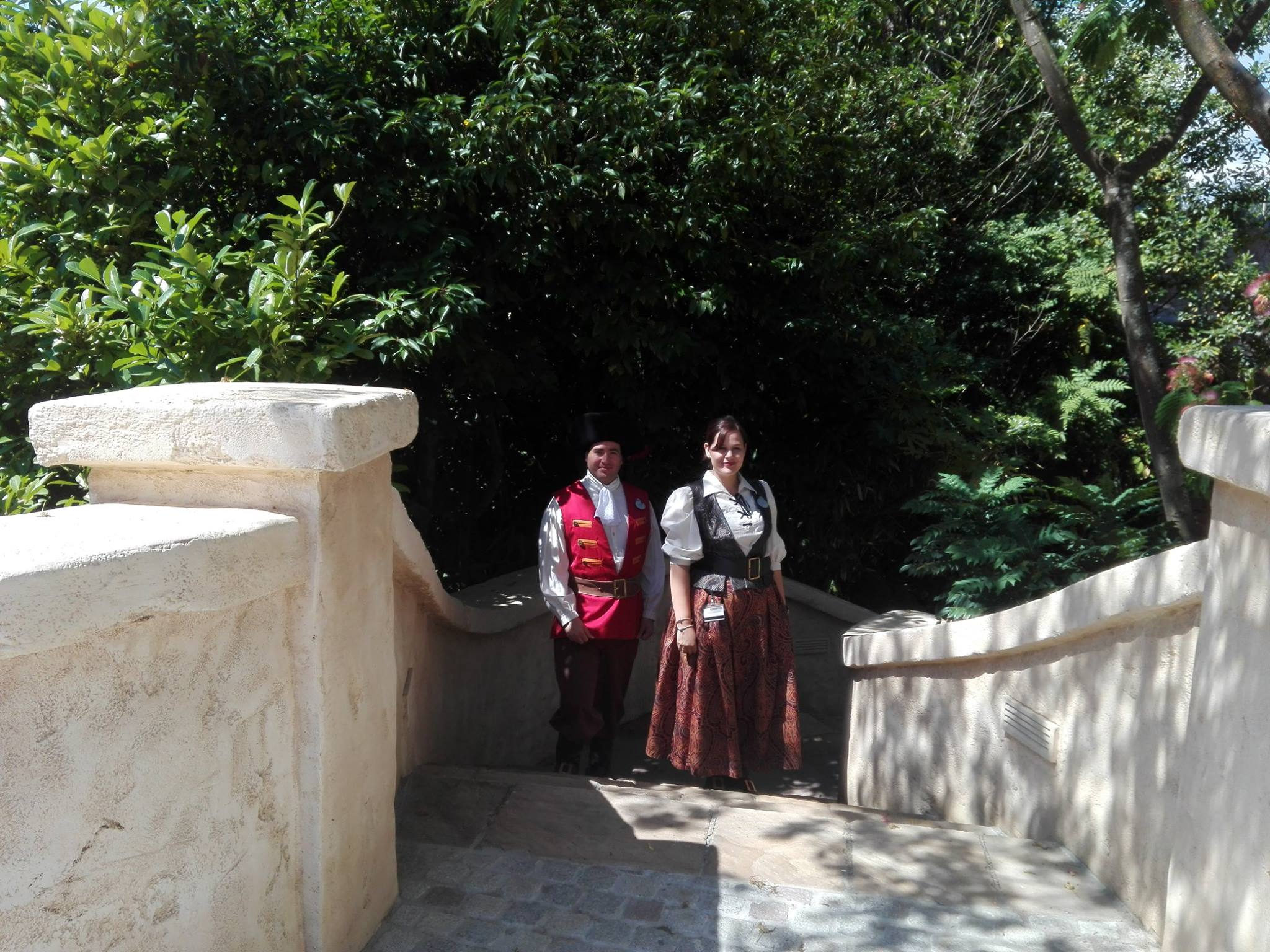 Zone réaménagée à Pirates des Caraïbes - Disneyland Paris