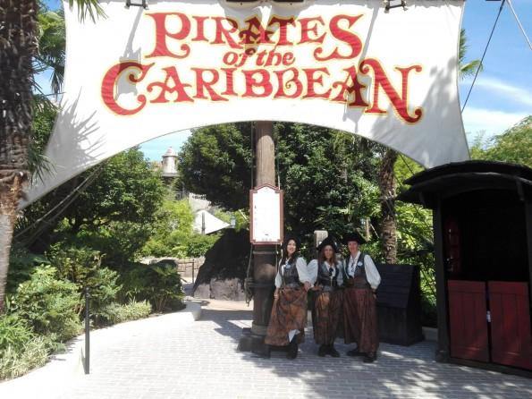 Nouvelle entrée de l'attraction Pirates des Caraïbes - Disneyland Paris