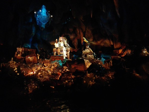 Jack Sparrow - Animatronique - Pirates des Caraïbes - Disneyland Paris