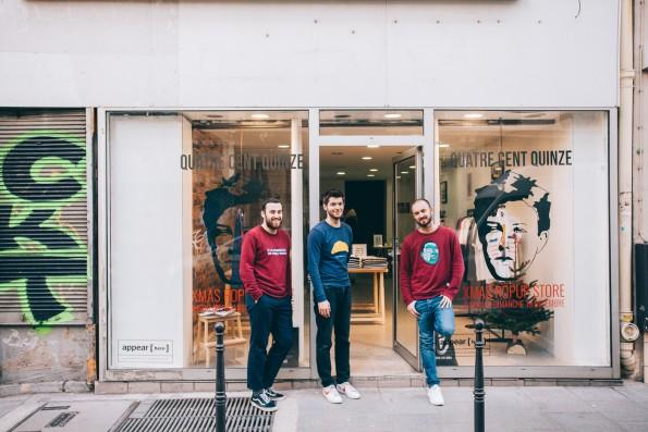 Concept-store éphémère par Appear Here