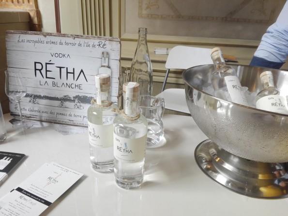 Vodka et gin Rétha - France Quintessence 2017