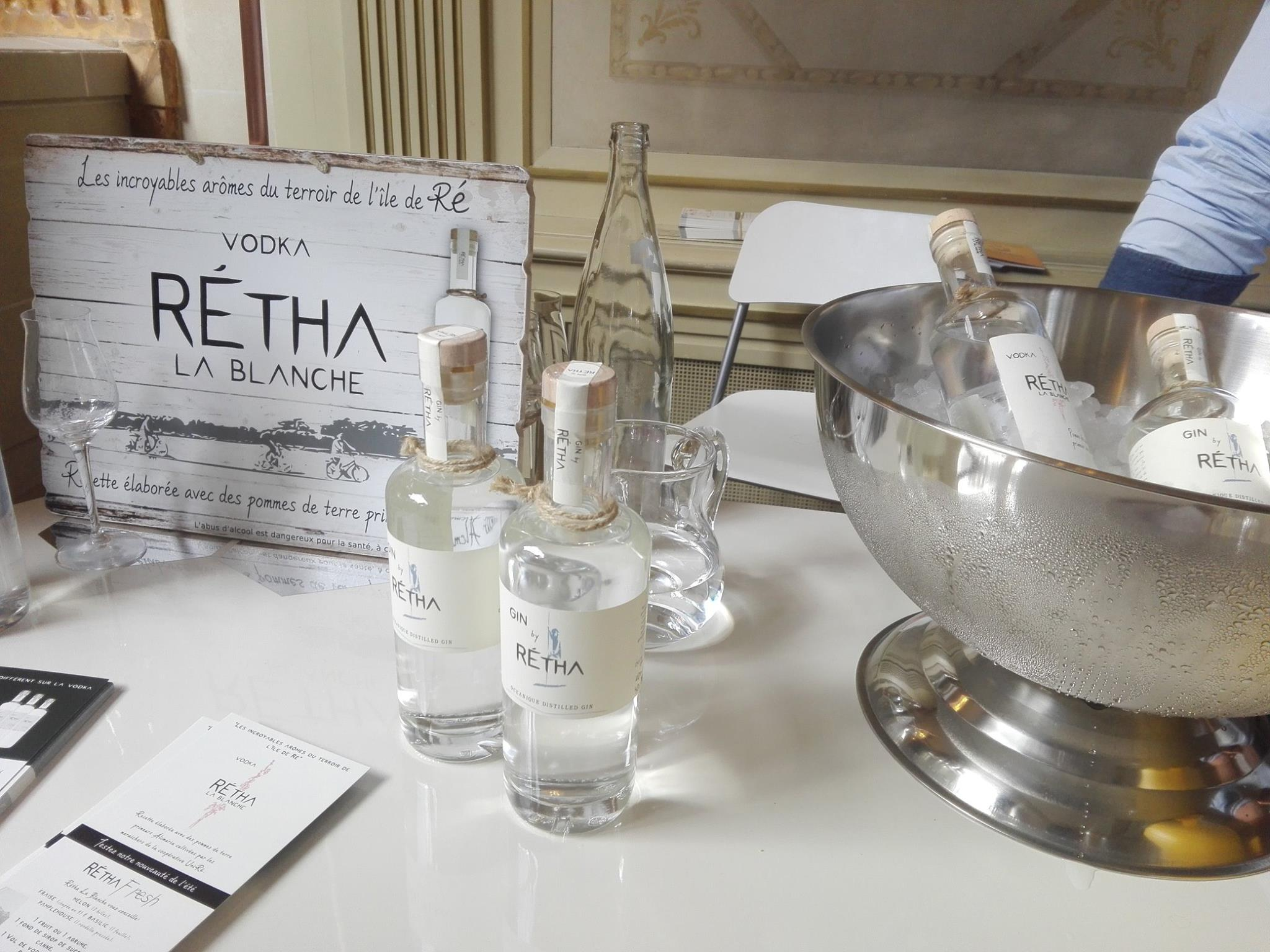 Vodka et gin Rétha - France Quintessence 2017