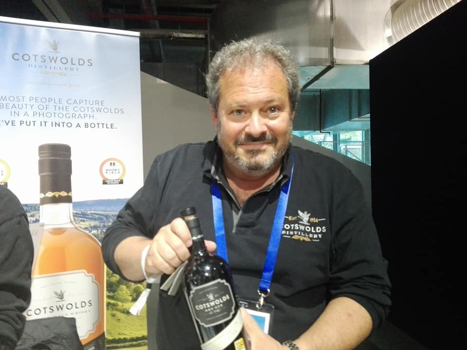 Daniel Szor, CEO de Cotswolds Distillery