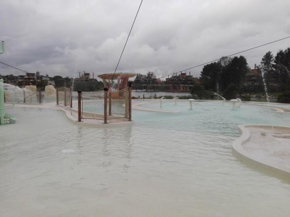 Les bassins extérieurs sont ouverts toute l'année.