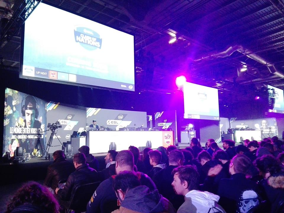ESL - Paris games week 2017