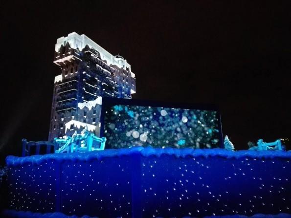 L'incroyable Noël de Dingo - Walt Disney Studios - Tour de la Terreur