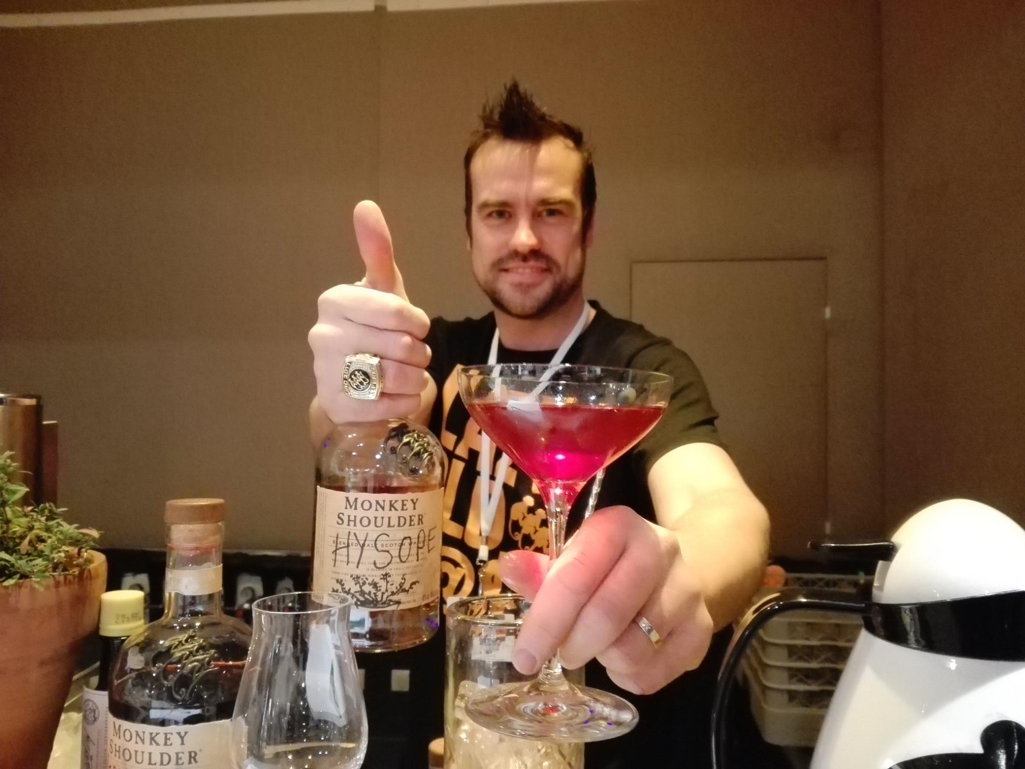 Monkey Shoulder - Timothy Ward - Paris cocktail festival