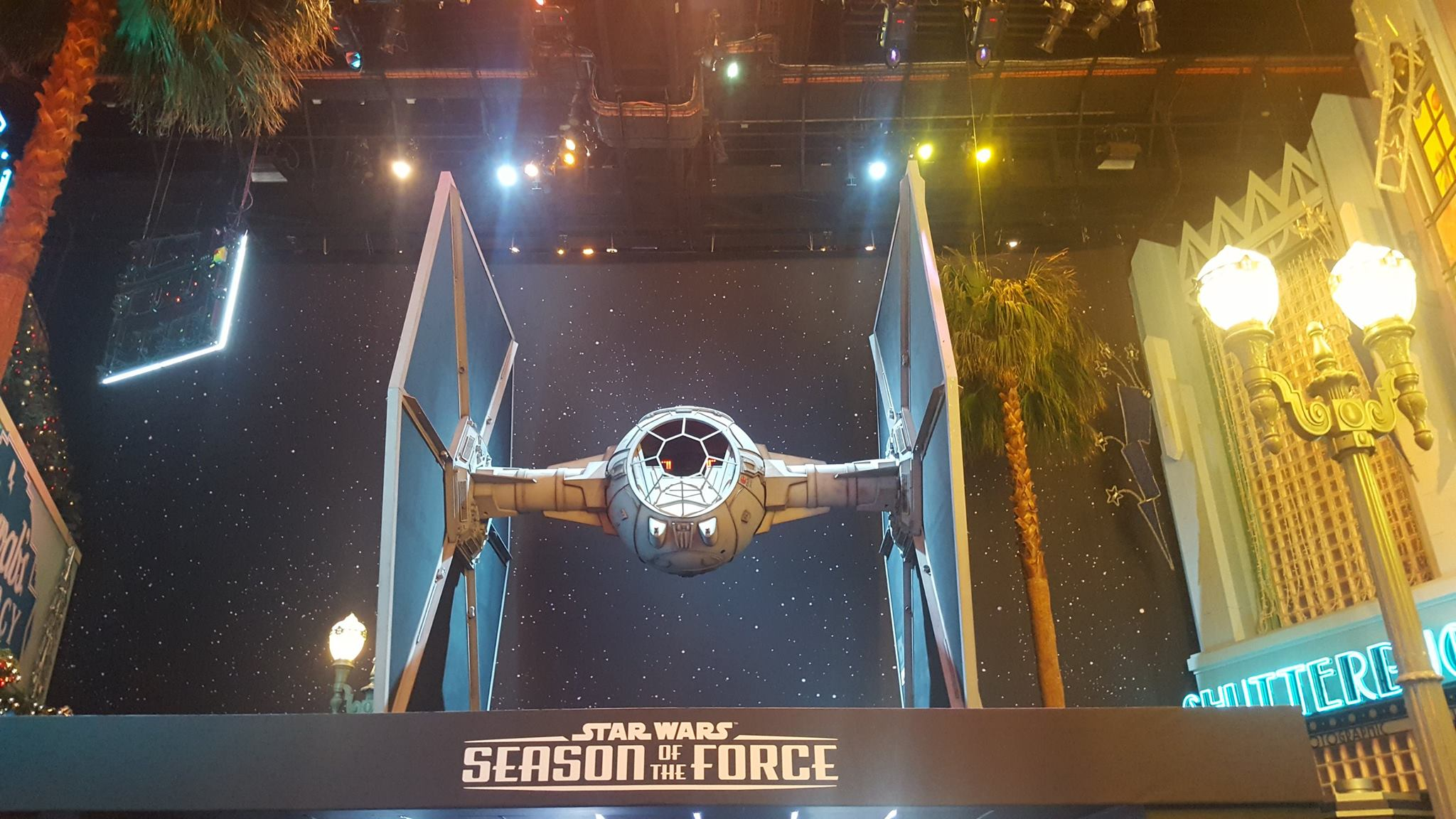 Vaisseau Star Wars - Saison de la force - Disneyland Paris - 2018